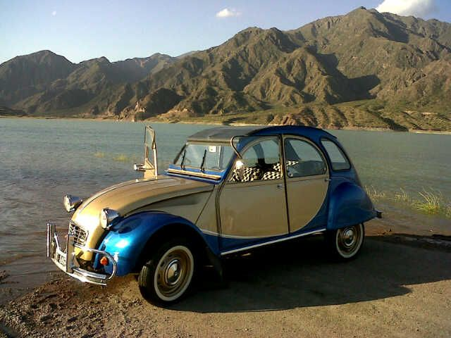 Pin On Visit Mendoza Self Driving A Charming Citroen 3cv