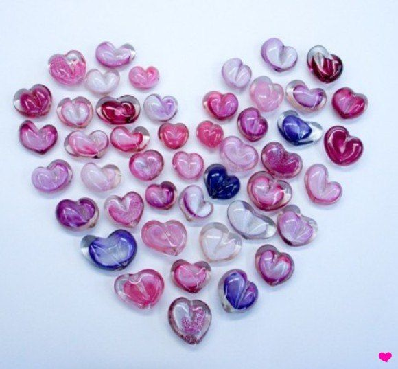 heart-paperweights