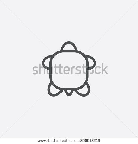 turtle Icon, turtle Icon Vector, turtle Icon Art, turtle Icon eps, turtle Icon Image, turtle Icon logo, turtle Icon Sign, turtle icon Flat, turtle Icon design, turtle icon app, turtle icon UI - stock vector