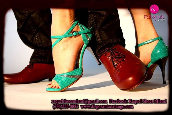 The best hand made shoes now in Miami! @raquel_shoes www.diegosantanatango.com