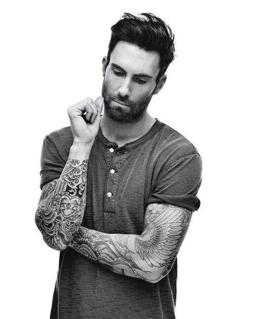 Adam levine cute boys hot maroon 5 tattoo adam for Maroon 5 tattoos hindu