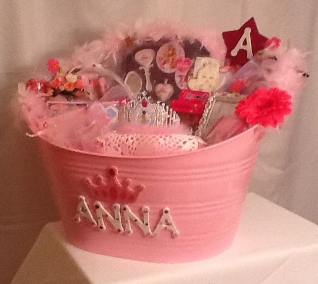 Christmas Gift Ideas For 5 Yr Old Girl: A Candice Creation...Princess Basket For 5 Year Old Girl