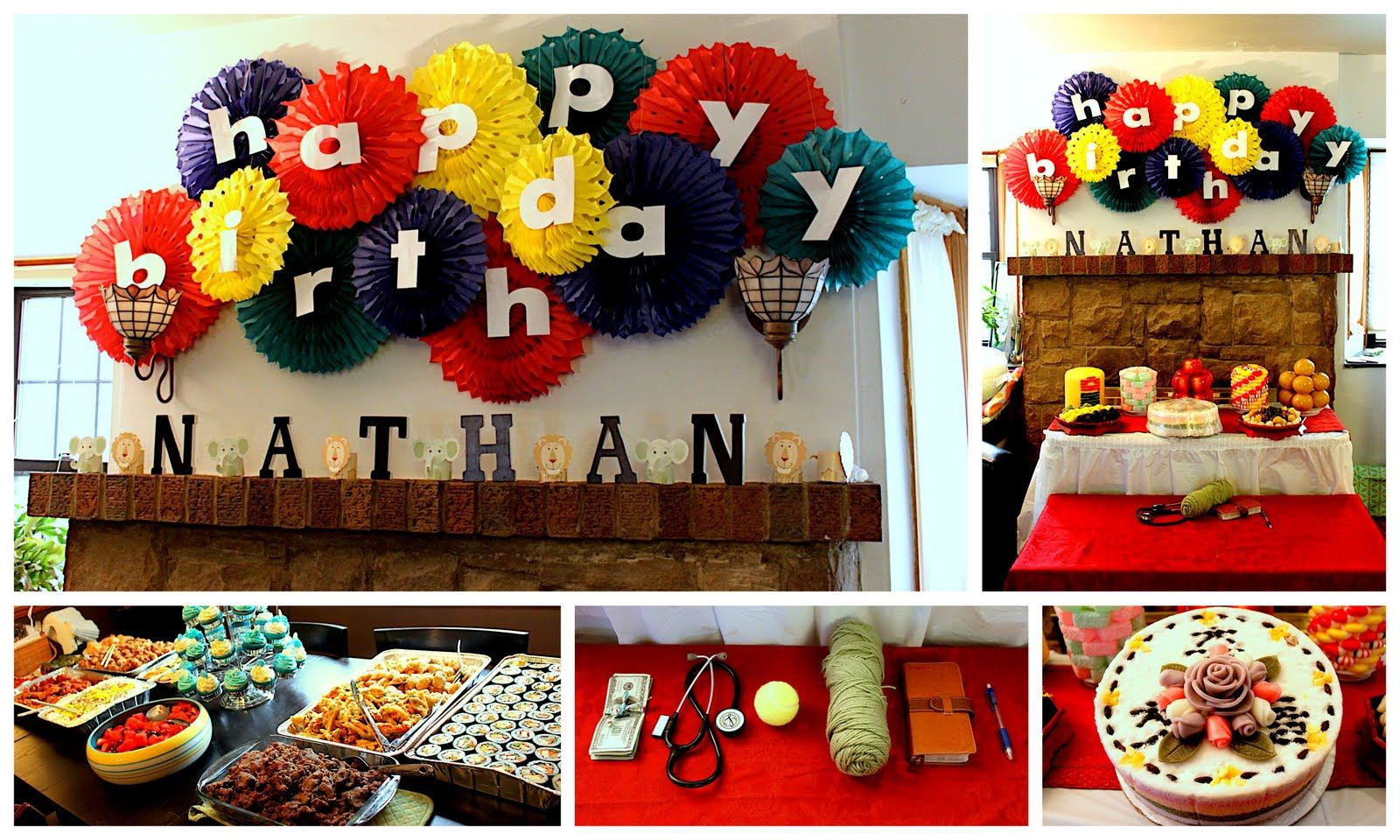 Birthday Decor Happy Birthday Banner Birthday Ideas