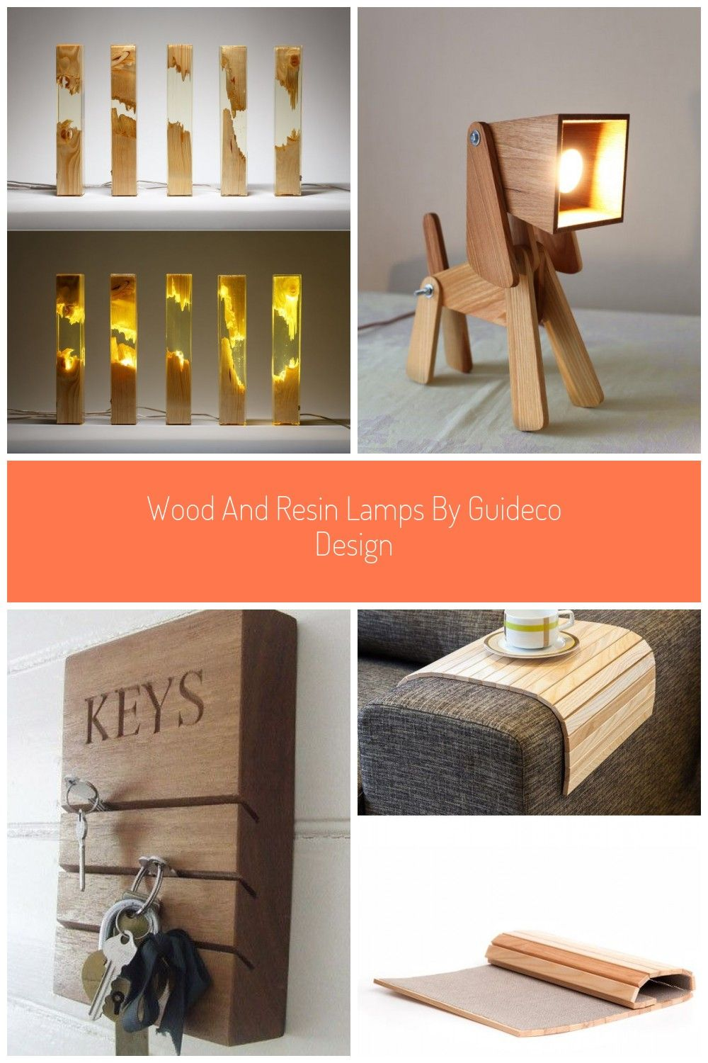 Handcrafted by artist & graphic designer Ioan Stanean of Guideco Design, these classy transparent #lamps are made of pine wood & transparent epoxy resin. They provide delightful illumination & also adds a unique, contemporary touch to any interior. #lighting #tablelamp #liveedgelamp #wood design