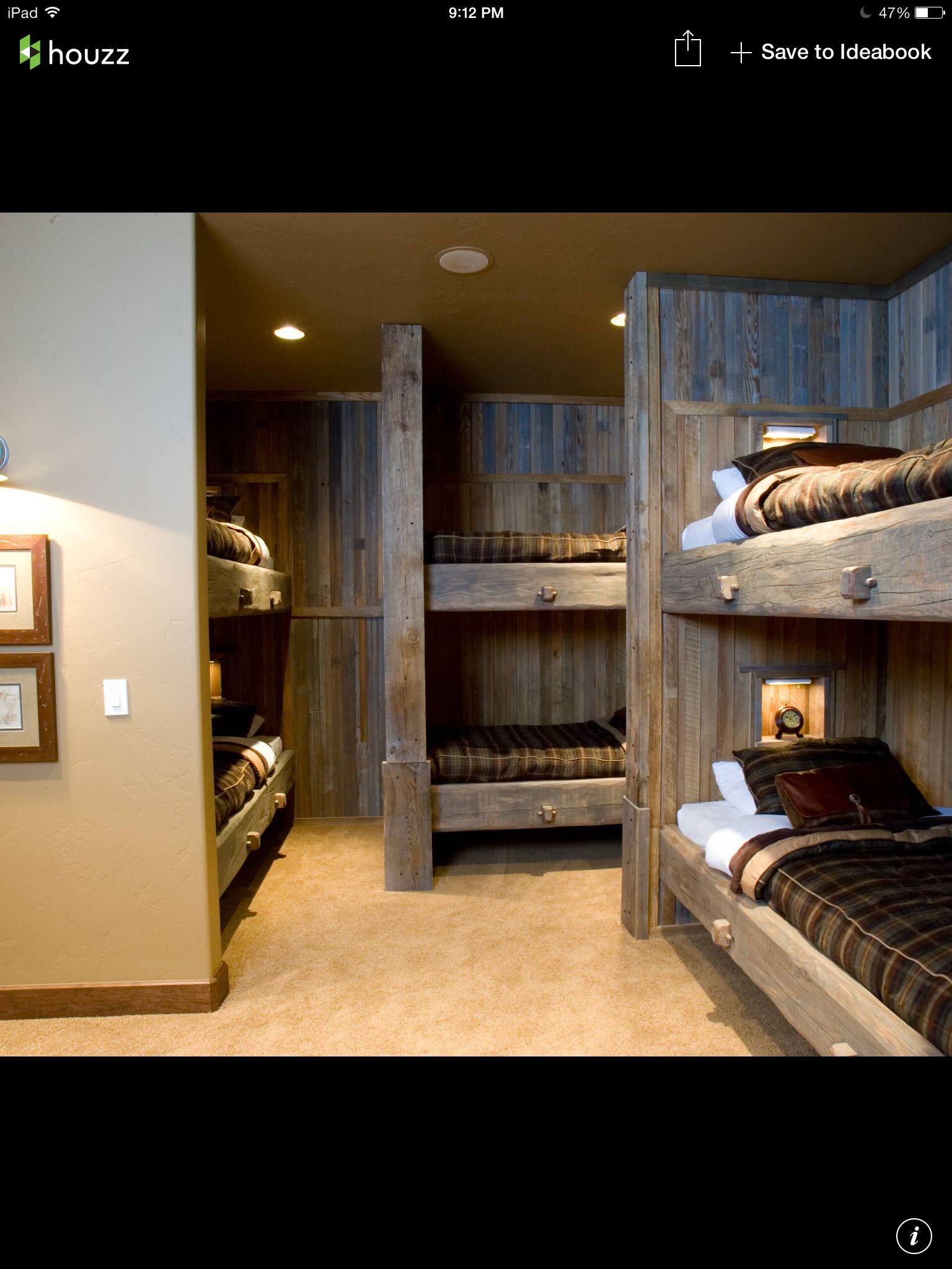 Decorideasaccentsaccessories Bunkhouse Beds