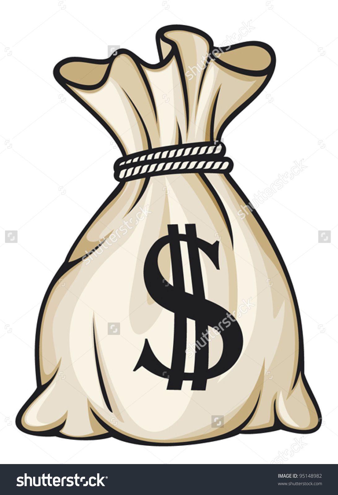 Money Bag With Dollar Sign Money Bag Tattoo Money Tattoo Dollar Sign Tattoo