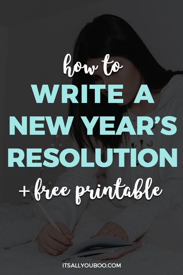 Don't just set any old new year's resolution for 2020! Make it new year's resolution that matters and you'll actually keep. Click here for how to write new year's resolutions that stick. Plus, get your Free 6-Page New Year's Resolution Printable. #Resolutions #NewYearsResolution #NewYearGoals #NewYear2020 #NewYearNewYou #NewYears #GoalGetter #GoalSetter #GoalsForLife #GoalsPlanning
