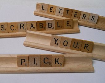 Individual Scrabble Letters A Z Single BEFORE Ordering
