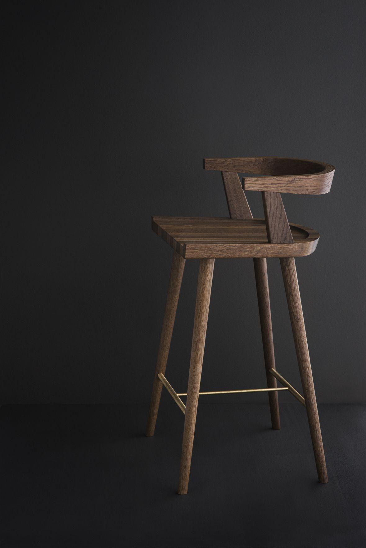 Stuhl Aus Eichenholz Von Kbh Kobenhavns Mobelsnedkeri Via