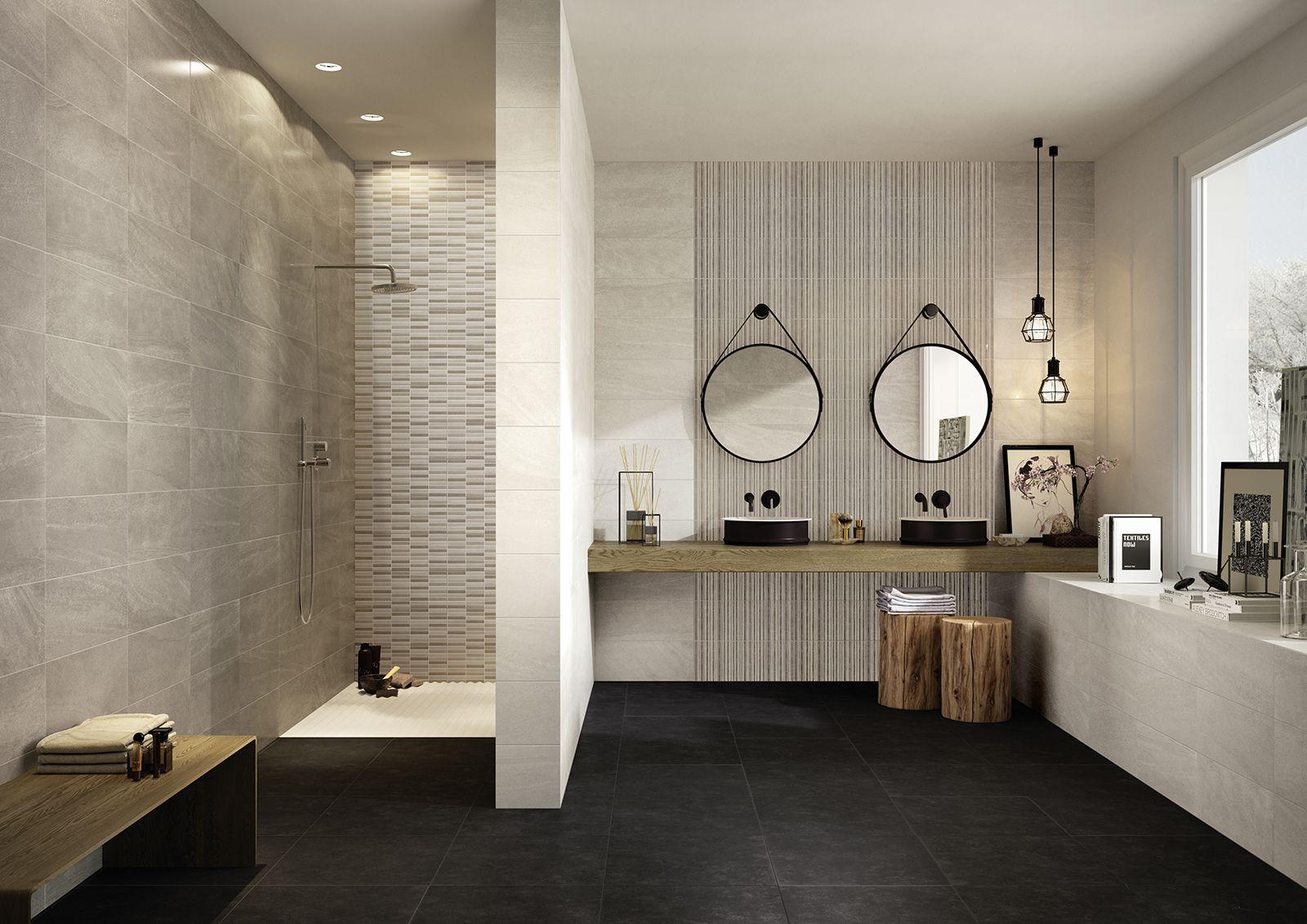 Marazzi Interiors Ice 20x50 Cm Mh9h Runde Badezimmerspiegel Badezimmerideen Badezimmer