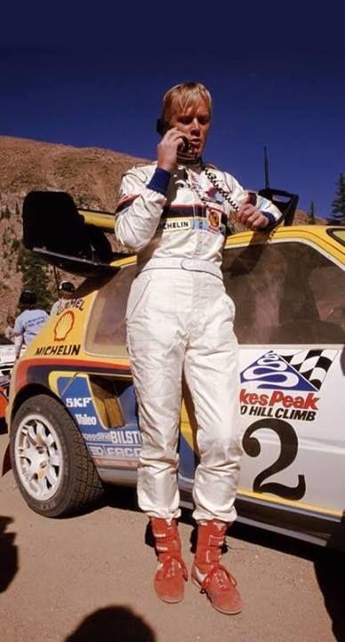 Ari Vatanen-Pikes Peak-Peugeot 405 DIEULOIS