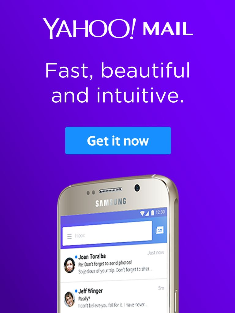 What matters most to you, all in one place. The Yahoo Mail