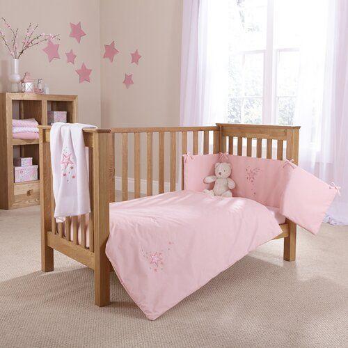Photo of Starburst 2-piece bedding set Clair De Lune Color: Pink #bedding set #cl … –  …