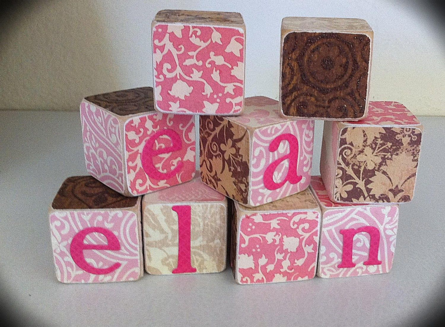 Personalized kids gifts - baby Wood Shabby Chic Vintage Blocks -  Personalized nursery decor - photo props baby shower - Personalized gifts by ChloesCouture on Etsy https://www.etsy.com/listing/55486110/personalized-kids-gifts-baby-wood-shabby