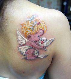 cherub memorial tattoos - Google Search