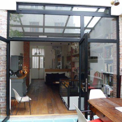 veranda entre deux murs