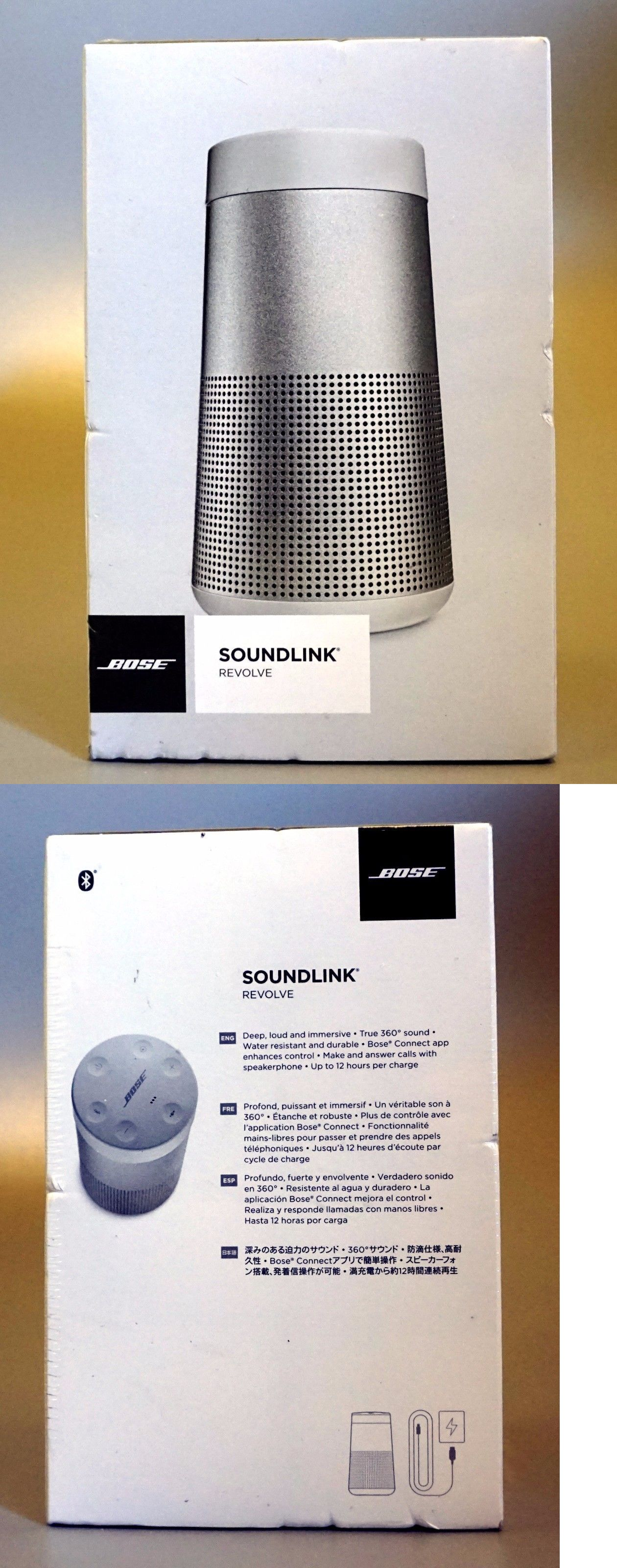 bose grey speakers. audio docks and mini speakers: +++new bose soundlink revolve bluetooth speaker ( grey speakers e