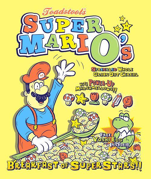 Super MariO's Cereal