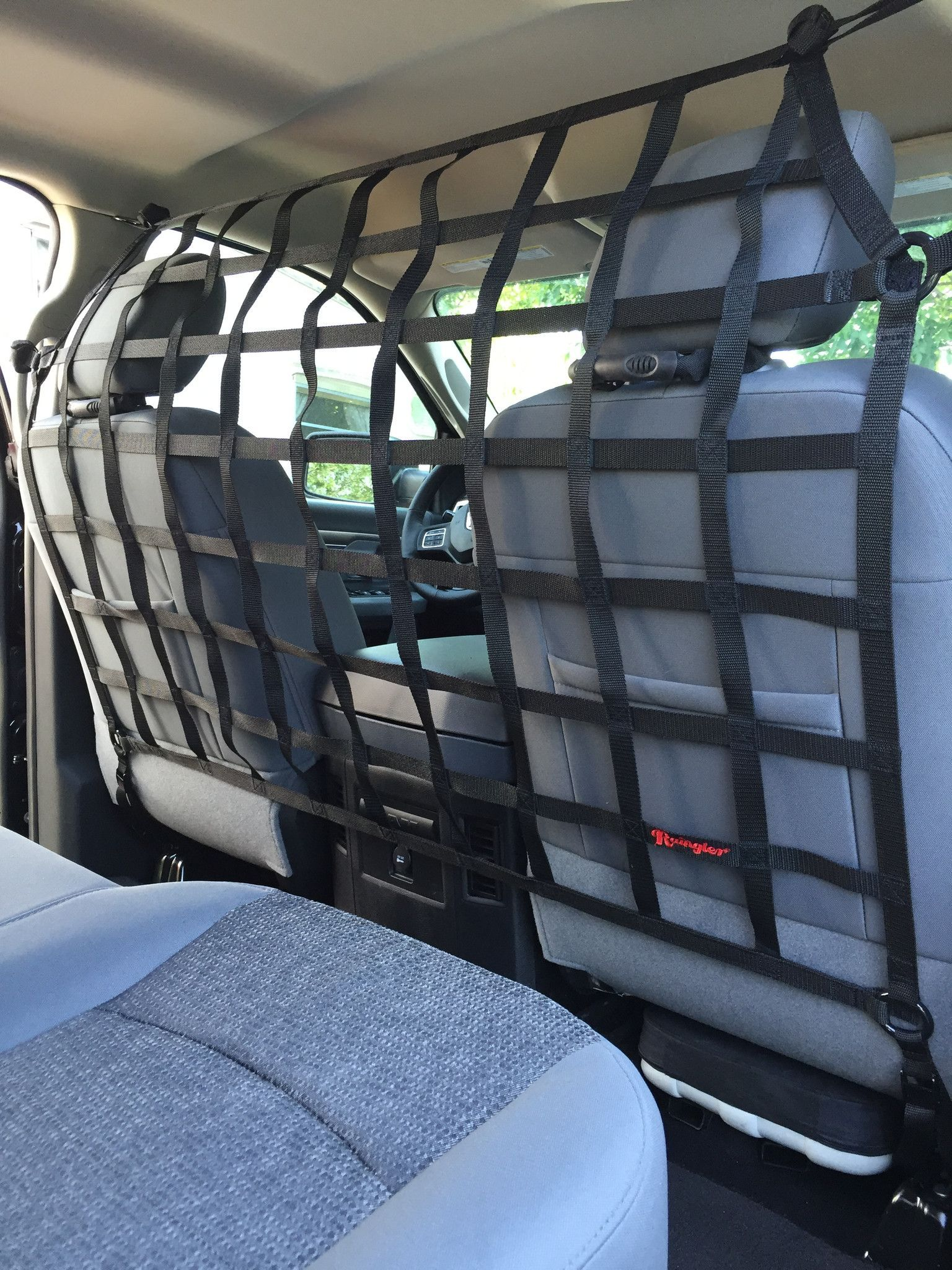 2002 2009 Ram 1500 2500 3500 4500 5500 Crew Cab Quad Cab Behind Front Seats Barrier Divider Net Dodge Ram 1500 Accessories Ford F150 Accessories Ford Trucks