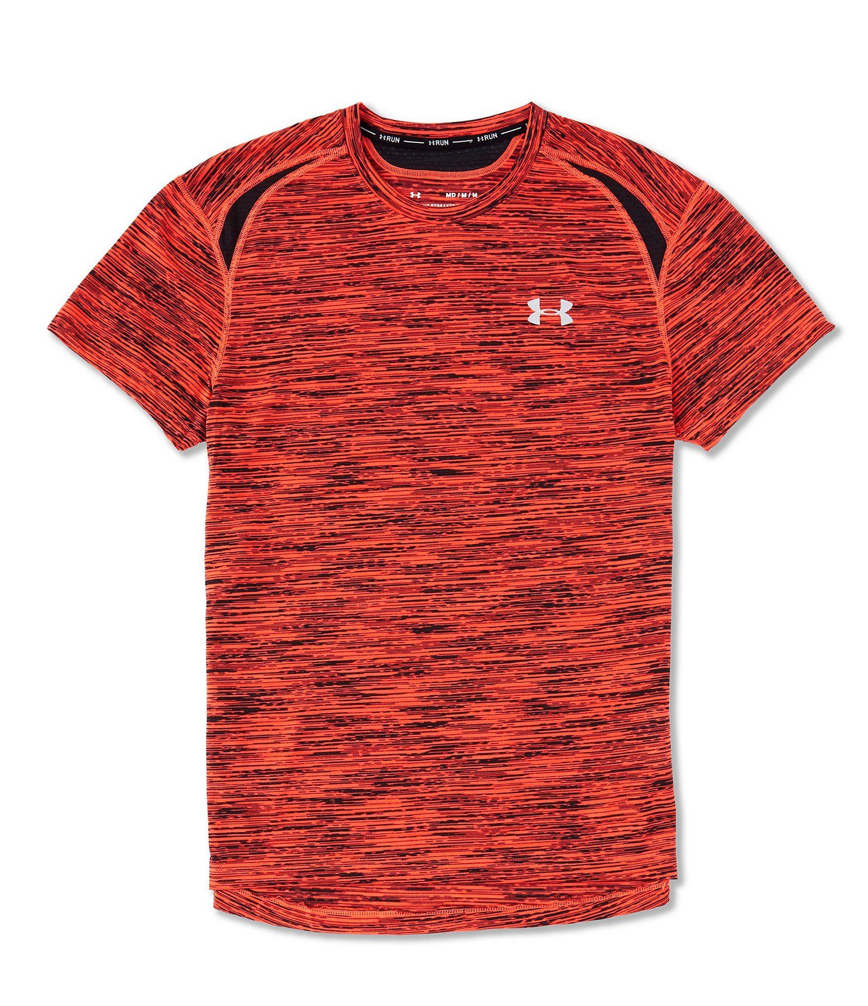 Under Armour Mens Streaker 2.0 Time Lapse Short-Sleeve T-Shirt