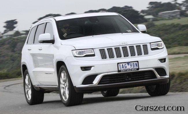 20182019 Jeep Showed Australian Special Model Grand Cherokee
