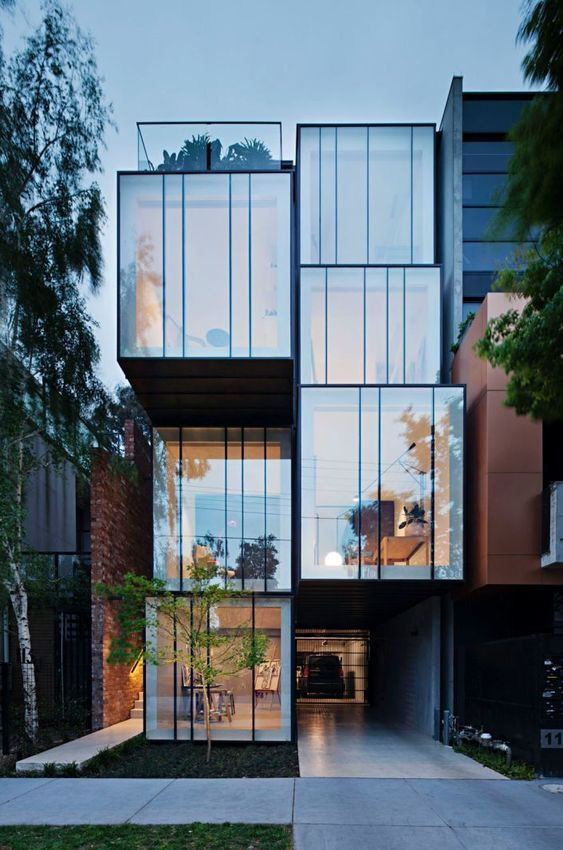 Project st kilda infill by matt gibson architecture design melbourne also kawakawa house herbst architects in piha new zealand trust god rh pinterest