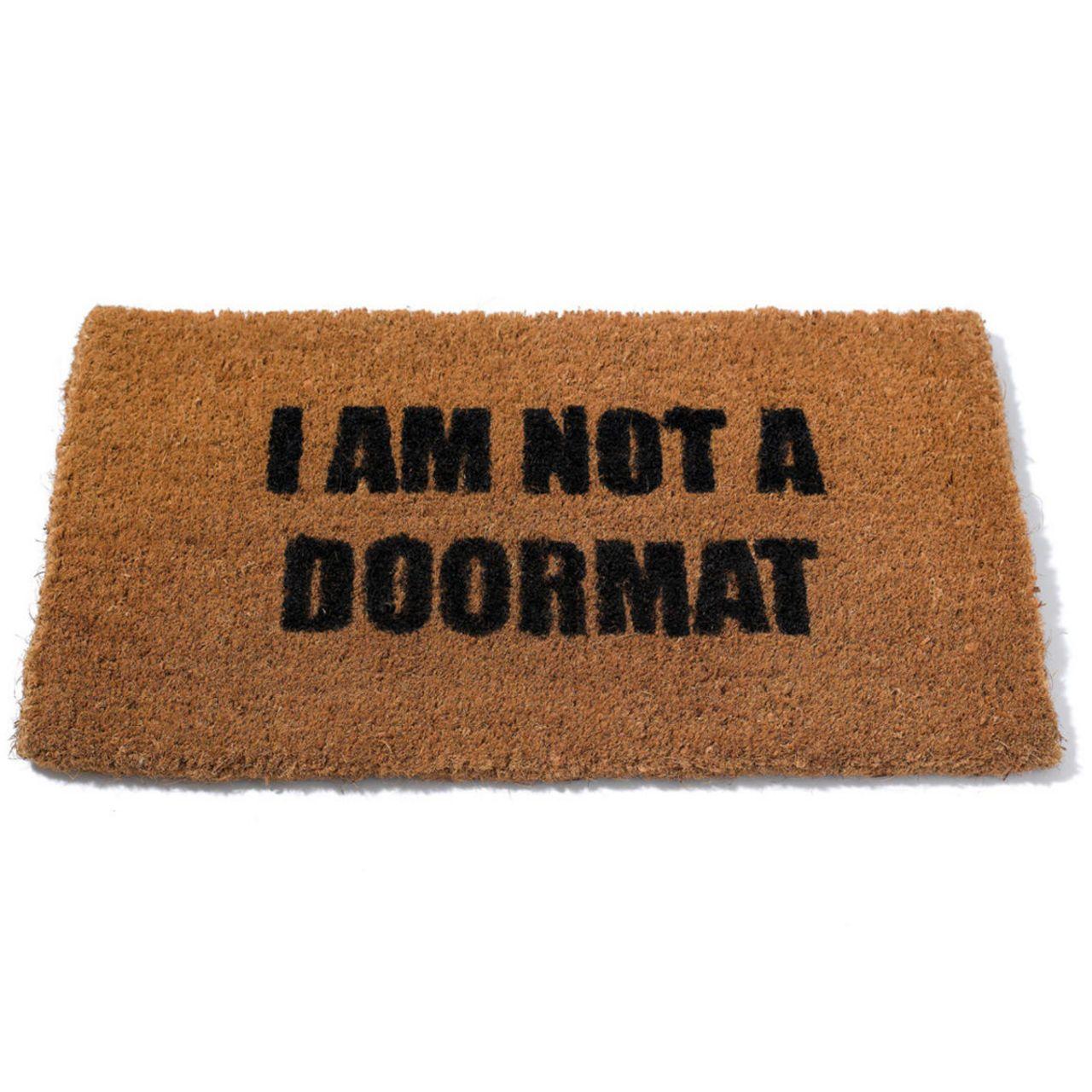 I am not a doormat