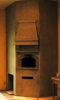 Indoor Pizza Oven Fireplace Combo Finishing Your Indoors