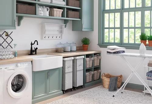2000 Kitchen Design Ideas Wayfair In 2020 Laundry Room Storage Laundry Room Decor Small Laundry Room Organization