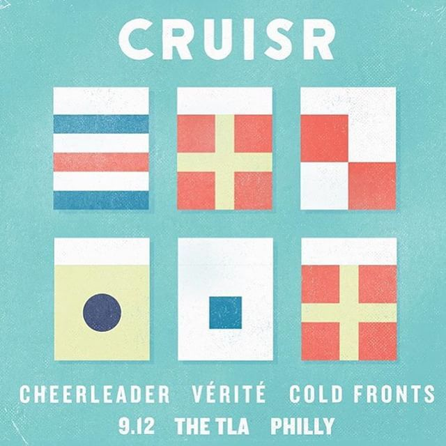 NEXT PHILLY AT THE TLA WITH THE HOMIES CRUISR CHEERLEADER AND VÉRITÉ
