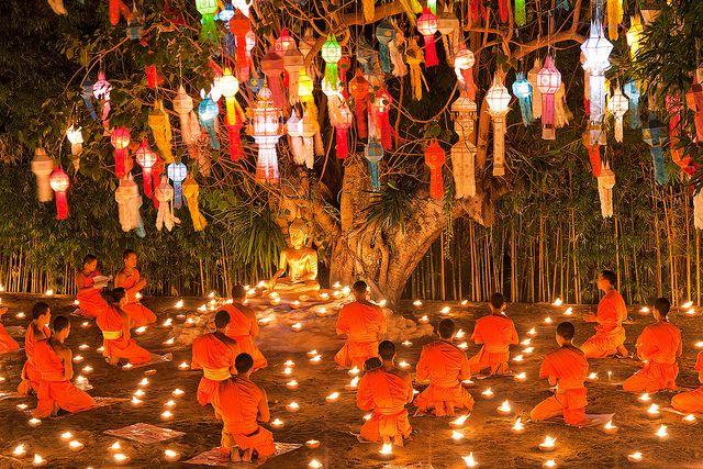 Buddhist Celebration by John & Tina Reid, via Flickr