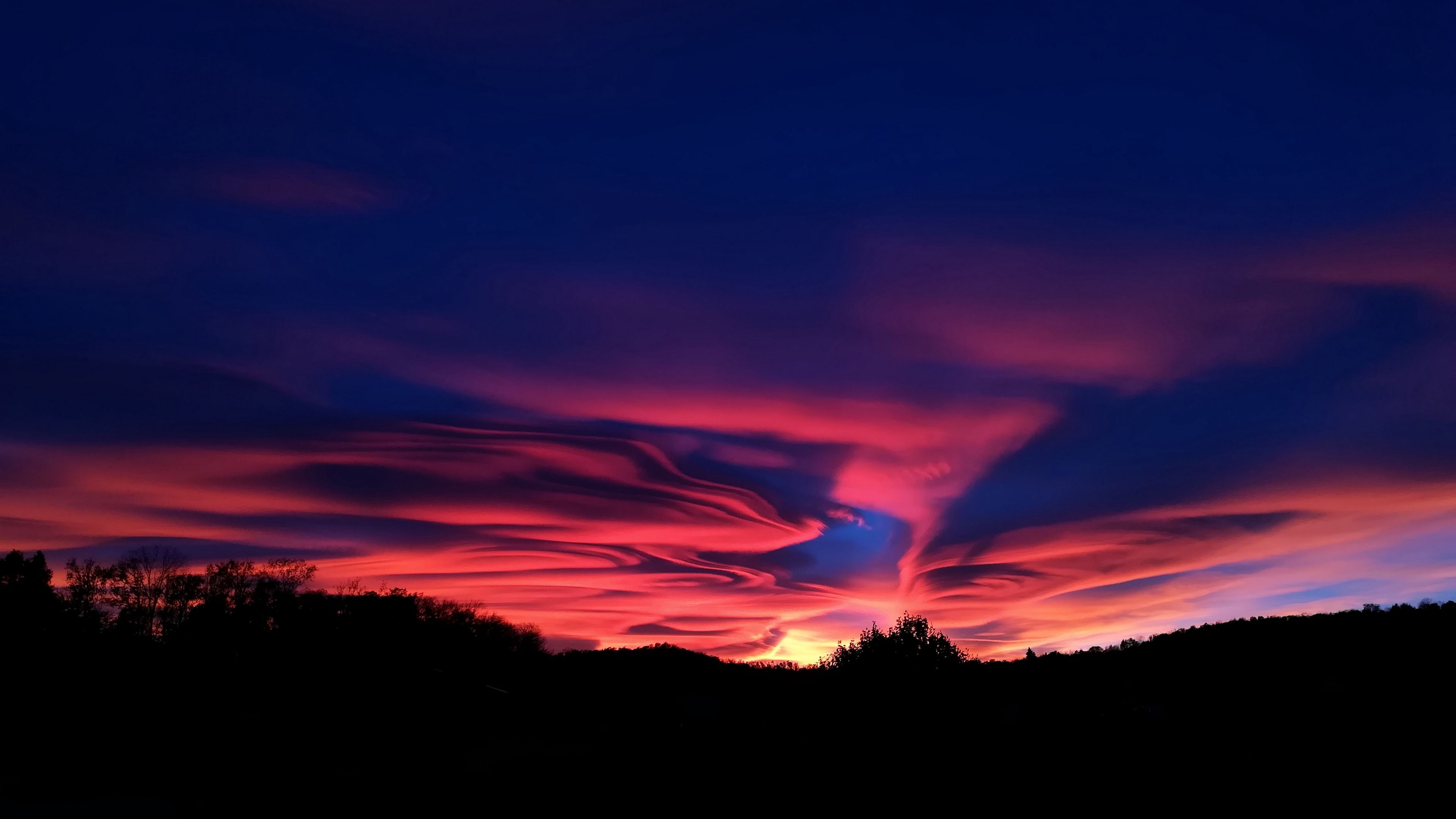 Sky Sunset Clouds 4k Sunset Sky Clouds Sunset Wallpaper Sunset Images Sunset