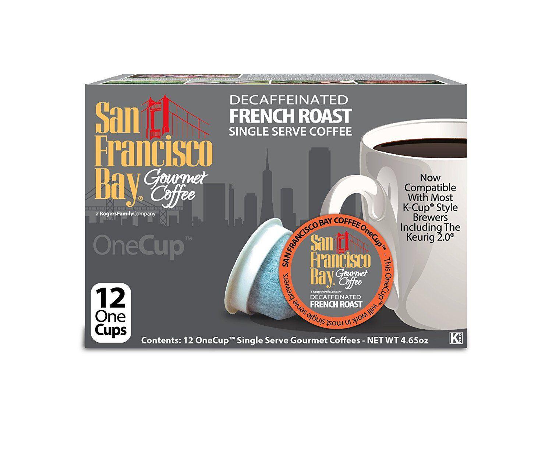 San Francisco Bay Coffee French Roast Decaf Coffee KCups