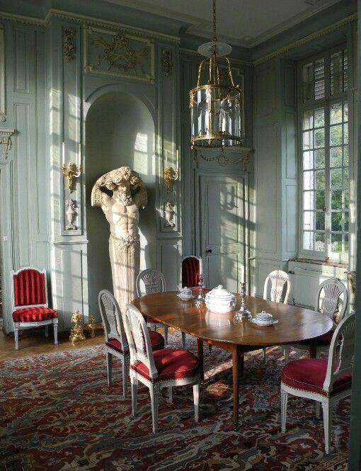 ch teau de barly pr s d 39 arras construit sous louis xvi dans les ann es 1780 interior i like. Black Bedroom Furniture Sets. Home Design Ideas