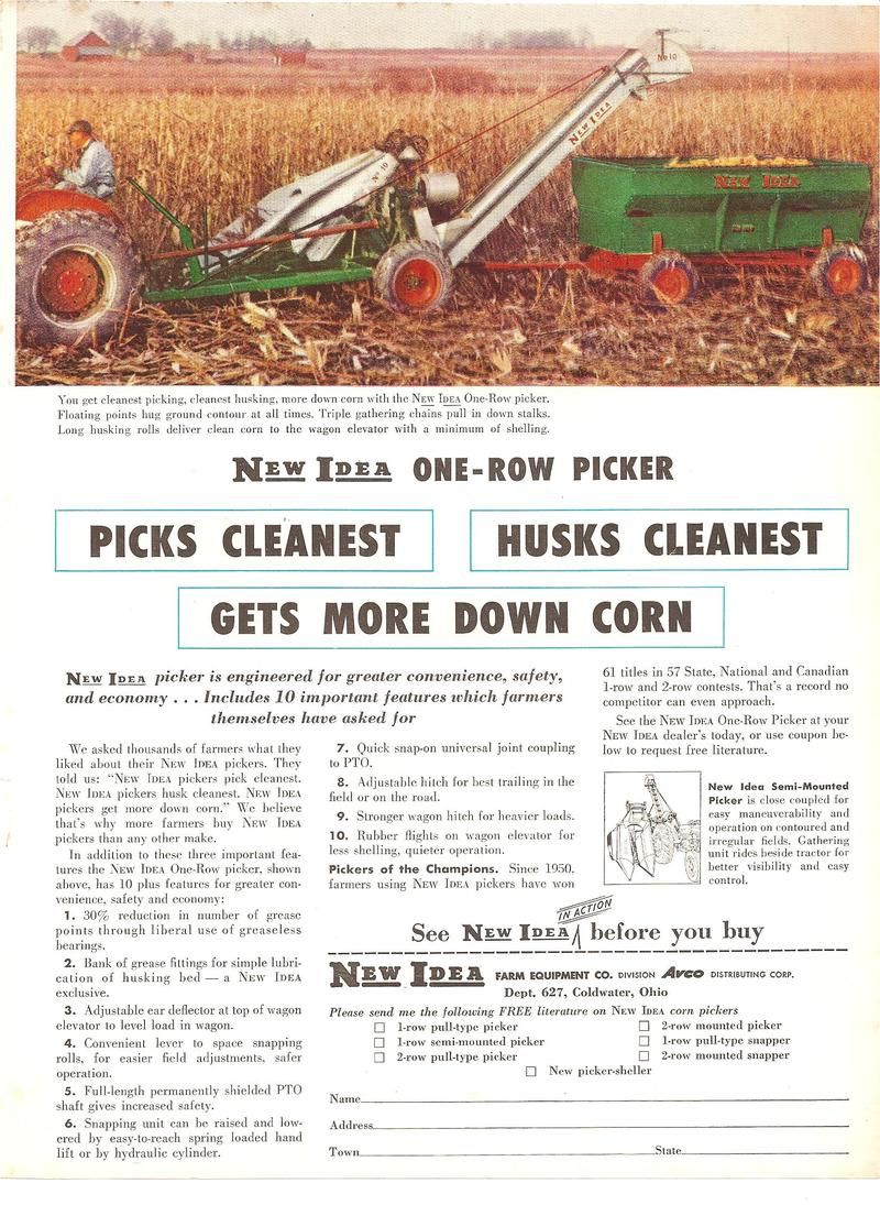 Sandusky Newspaper Ad With Images Tractor Pictures Tractors