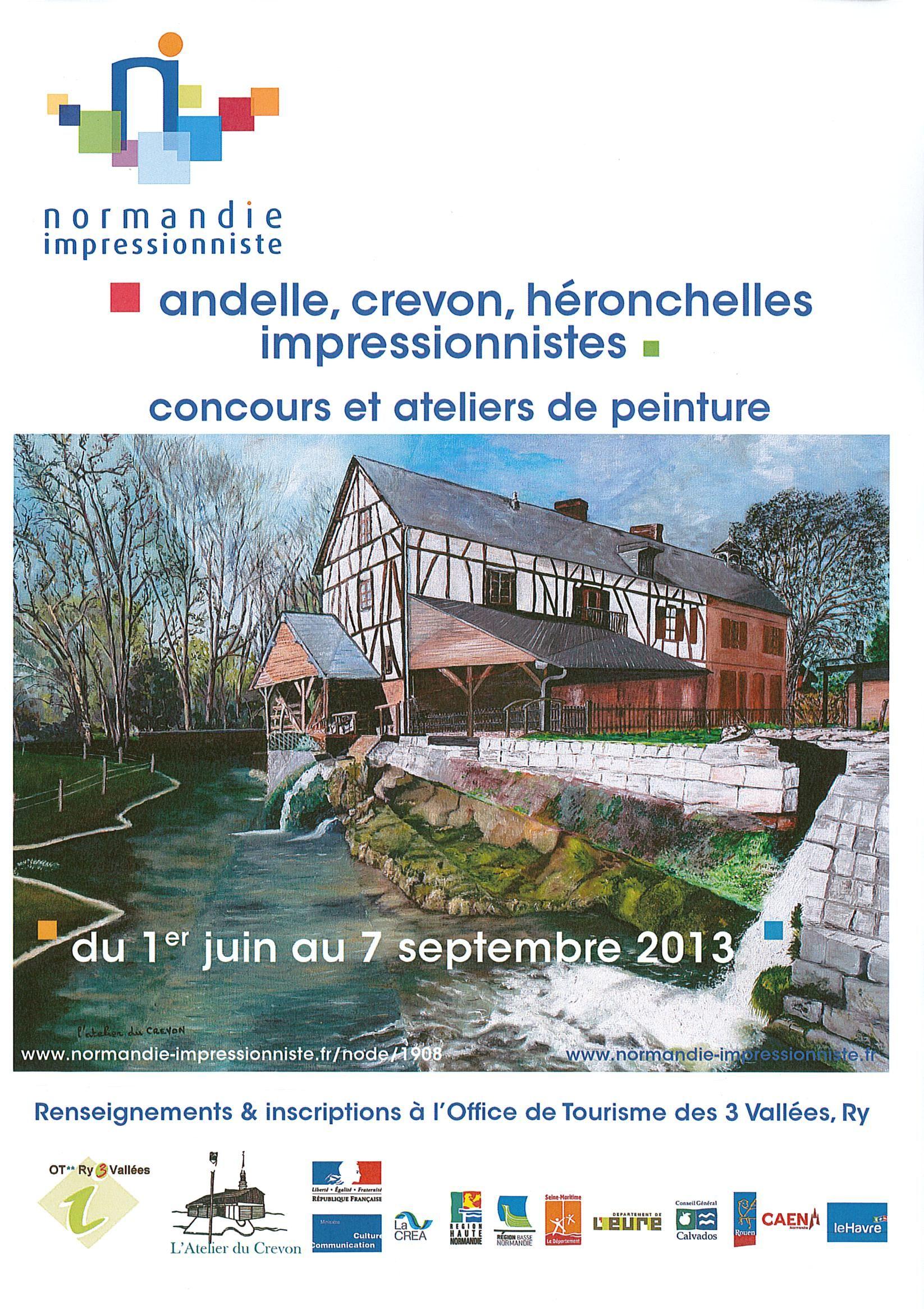 Concours de peinture Impressionniste 2013 à Ry - Seine ...