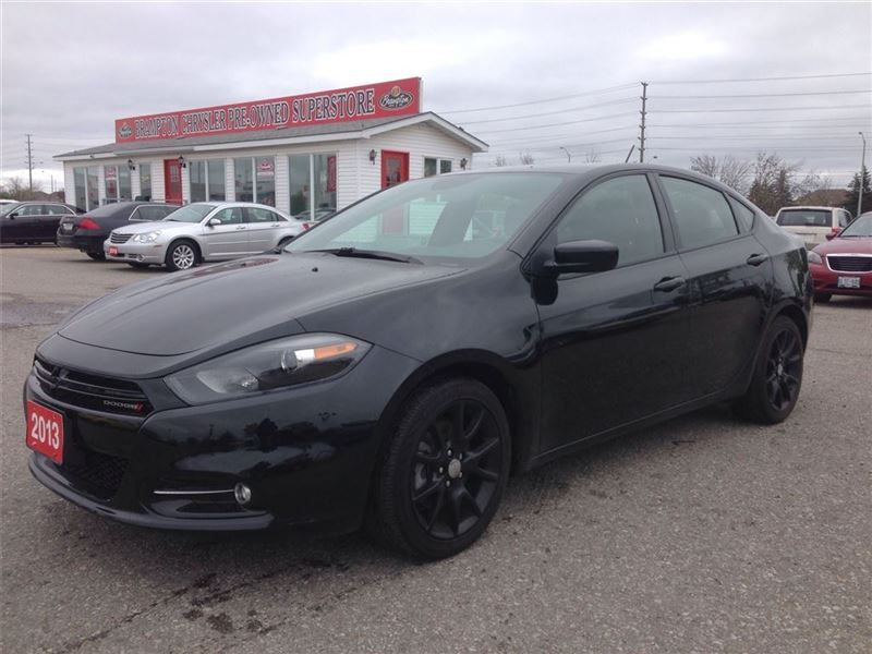Car - 2013 Dodge Dart RALLY DUAL EXHAUST PIPE ONE OWNER TRADE-IN in ...