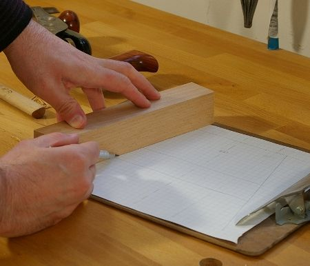 Stool Cutting - An Angled Mortise and Tenon