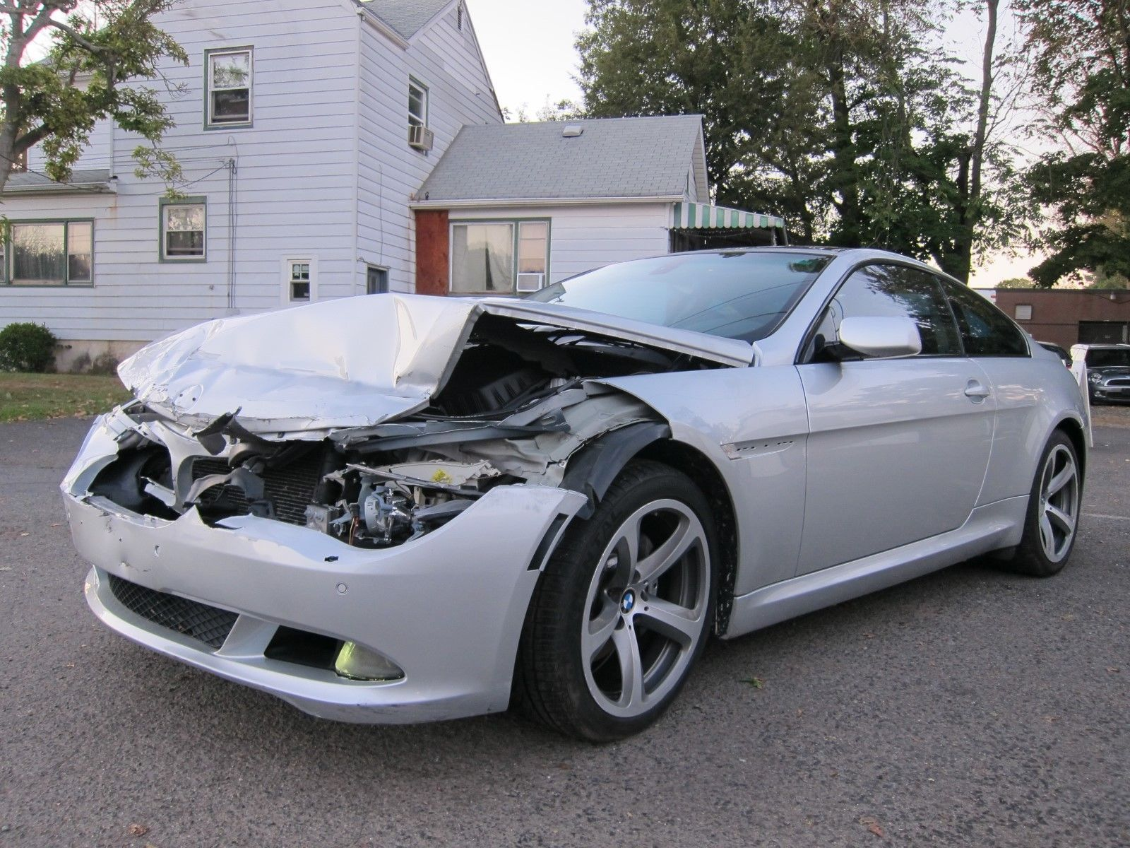 Loaded 2008 Bmw 6 Series 650i Repairable Bmw 6 Series Sports