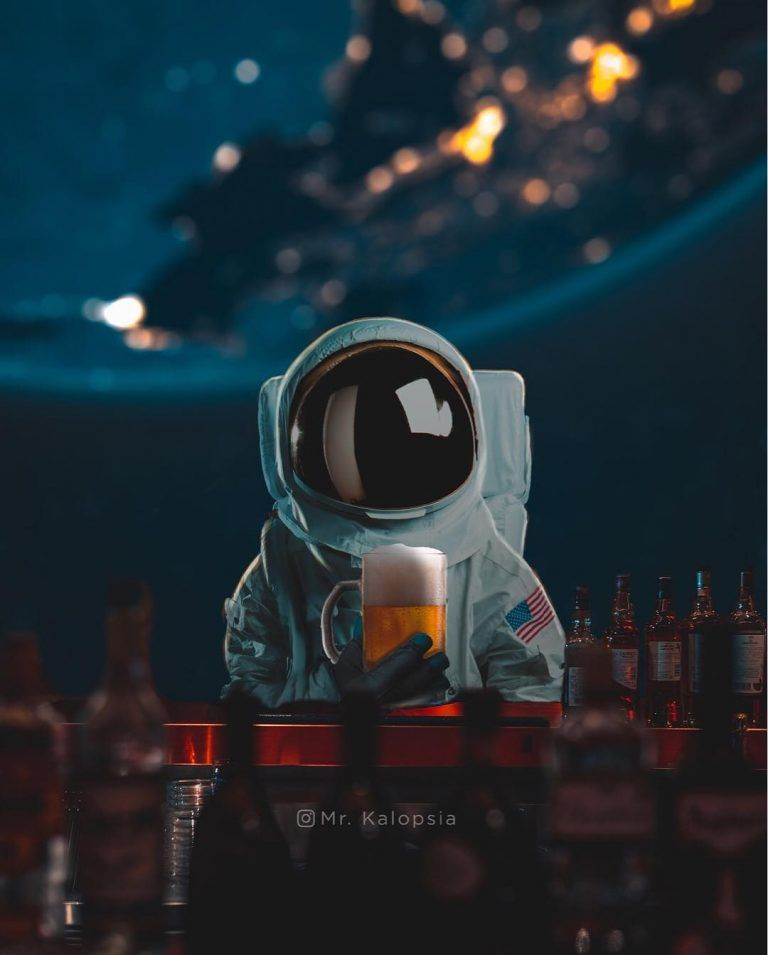 Futuristic And Dreamlike Photo Manipulations By Eashan Misra