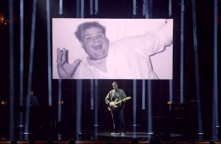 Adam Sandler Performs a Heartbreaking Tribute to Late