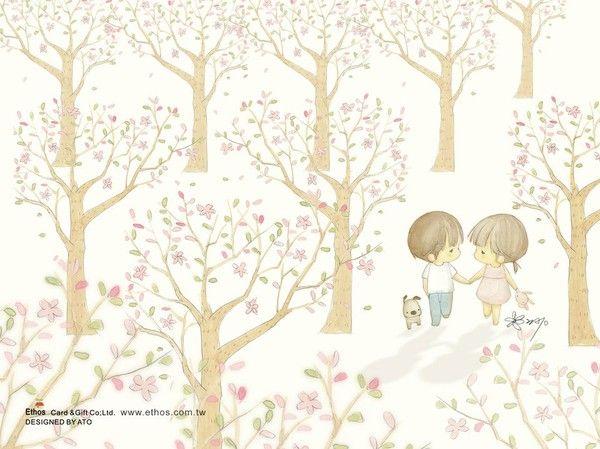 插畫家Ato Recover:小確幸。來源http://www.facebook.com/123ato