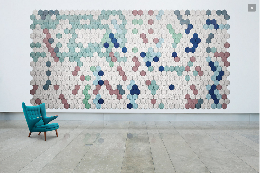 BAUX (S) - WHEN ACOUSTIC PANELS MEET ART