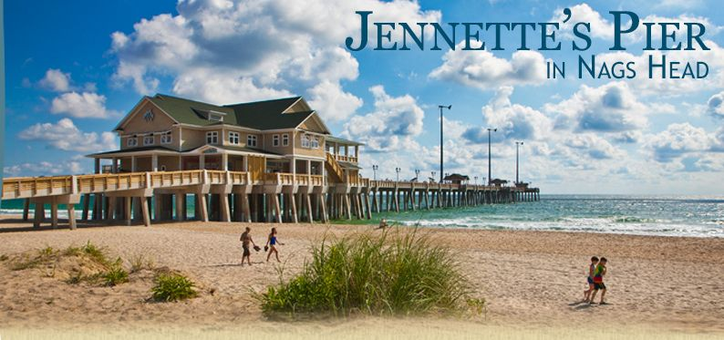 Jennettes pier nags head nc l view hours events and seasonal activities l www carolinadesigns com