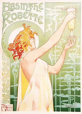 One of my favorite Absinthe adverts.