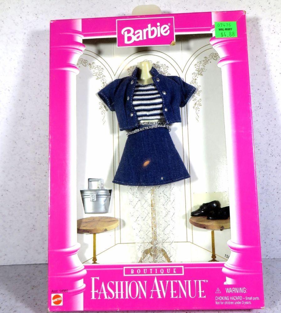 Details About Nrfb Barbie Fashion Avenue Dazzle Awards Night 24499 0980 Ensemble Comp Barbie Convention Barbie Sewing Patterns Fashion