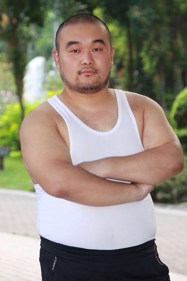 Asian fat homosexual