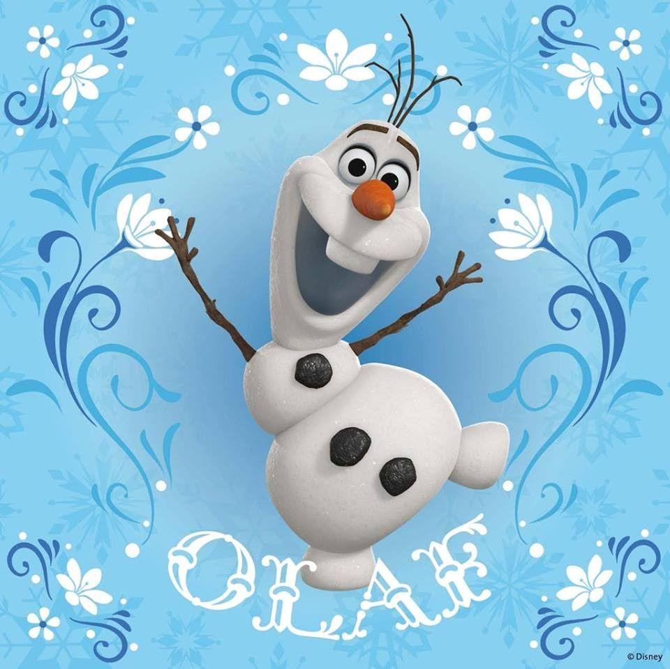 OLAF TOPO DE BOLO OU ENFEITE DE MESA