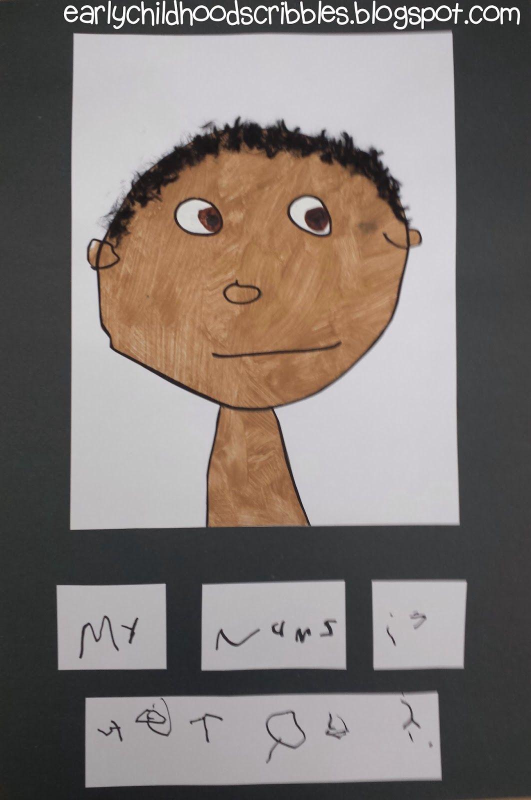 Preschool Self Portraits
