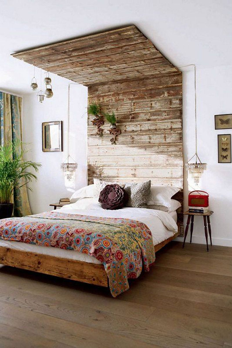 Interior Design Inspiration  Rustic Chic  Bed IdeasModern. Interior Design Inspiration  Rustic Chic   Floral throws